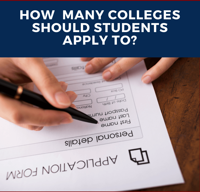 Why You Shouldn't Apply To 20 Colleges!